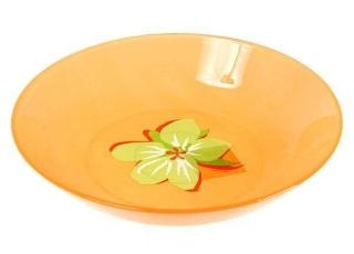 POP FLOWERS ORANGE тарелка суповая 22 см 1шт