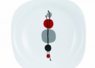 KYOKO WHITE тарелка десертная 19 см 1шт