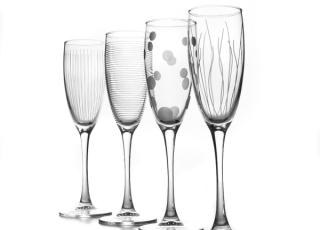 LOUNGE CLUB фужеры для шампанского 170 мл. 4 шт.