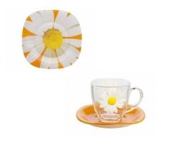 PAQUERETTE MELON 18 предметов с десертными тарелками