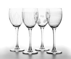 LOUNGE CLUB фужеры для вина 250 мл. 4 шт.