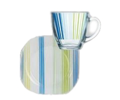 CARINE STRIPES BLUE 4 предмета