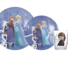 DISNEY FROZEN WINTER MAGIC детский набор 3 предмета