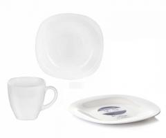 CARINE WHITE 18 предметов с десертными тарелками