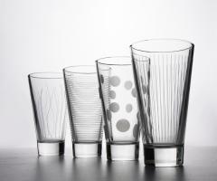 LOUNGE CLUB набор стаканов высоких 350 мл. 4 шт.