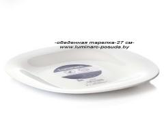 CARINE NEO WHITE (новая форма) тарелка обеденная 27 см