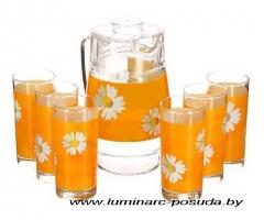 PAQUERETTE MELON стаканы + кувшин