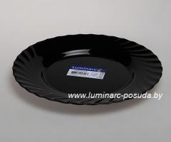 TRIANON BLACK тарелка обеденная 24,5 см