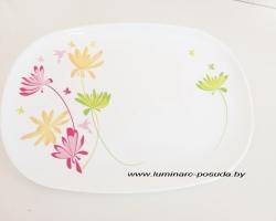 CRAZY FLOWERS блюдо овальное 33 см