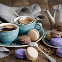 Чайные сервизы Luminarc 18 предметов с десертными тарелками.