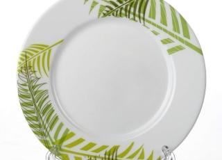 GREEN FOREST тарелка обеденная 25 см 1 шт