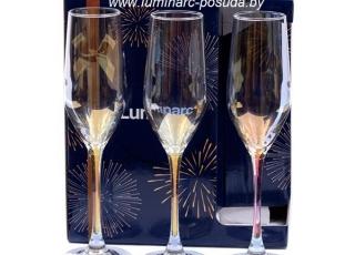 CELESTE -золотистый хамелион- фужеры для шампанского 160 мл. 6 шт.