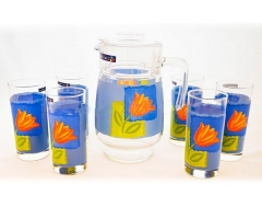 MELYS AZUR стаканы + кувшин