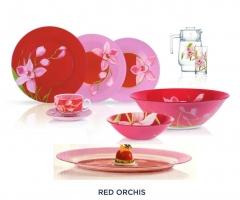 RED ORCHIS 69 предметов на 12 персон