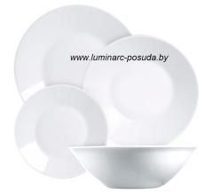 ESSENCE WHITE 19 предметов с салатником