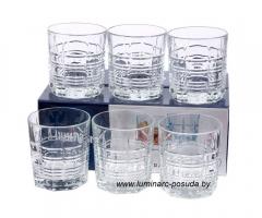 DALLAS (ДАЛЛАС) набор стаканов низких 300 мл. 6 шт.
