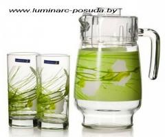 SOFIANE GREEN стаканы + кувшин