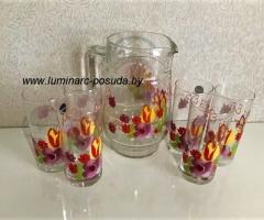 DACHA стаканы + кувшин