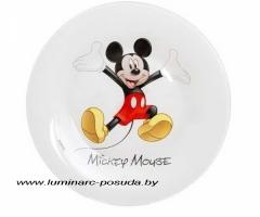 DISNEY MICKEY COLORS тарелка десертная 19 см