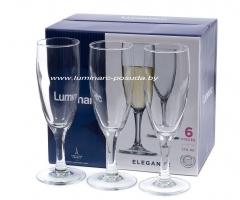 ELEGANCE фужеры для шампанского 170 мл. 6 шт.