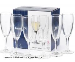 FRENCH BRASSERIE набор фужеров для шампанского 170 мл. 6 шт.