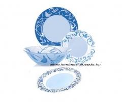 PLENITUDE BLUE 19 предметов с блюдом