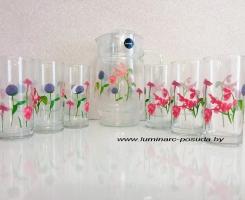 ROZANA BEGONIA /кувшин+стаканы/