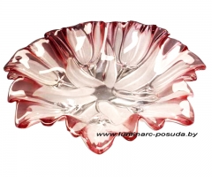 SYLVIA блюдо розовое Ø 33,5 см