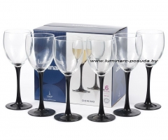 DOMINO фужеры  для вина 250 мл. 6 шт.