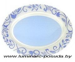 PLENITUDE BLUE блюдо овальное 33 см