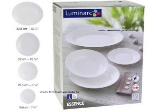 ESSENCE WHITE 19 предметов с блюдом