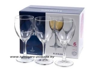 ELEGANCE фужеры для вина 245 мл. 6 шт.