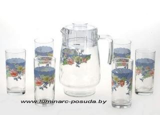 FLORINE стаканы+кувшин