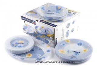 POEME BLUE 19 предметов с блюдом