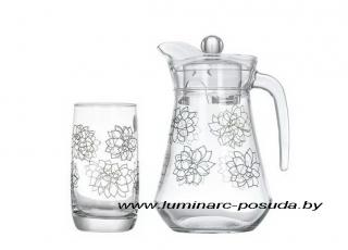 SIMPLY FLEURS DE BACH стаканы+кувшин