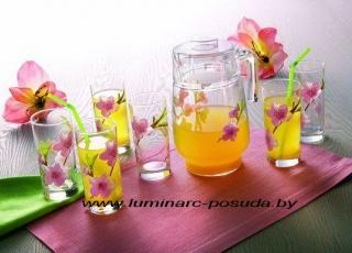 WATER COLOR стаканы + кувшин
