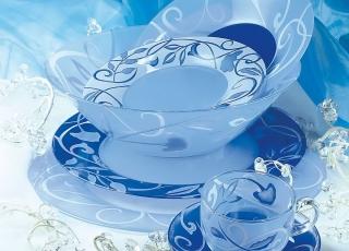 PLENITUDE BLUE  69 предметов на 12 персон