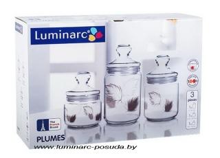 PLUMES набор банок 3 предмета