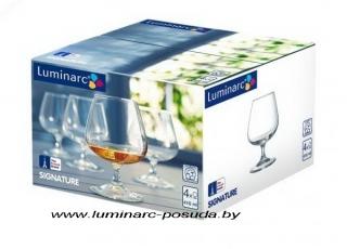SIGNATURE бокалы для коньяка 410 мл. 4 шт.