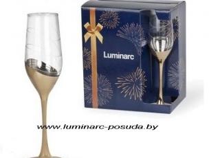 CELESTE -золотое кольцо- фужеры для шампанского 160 мл. 6 шт.