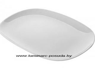 CARINE WHITE блюдо овальное  33 см