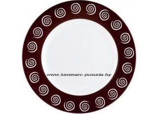 SIROCCO BROWN тарелка обеденная 25 см